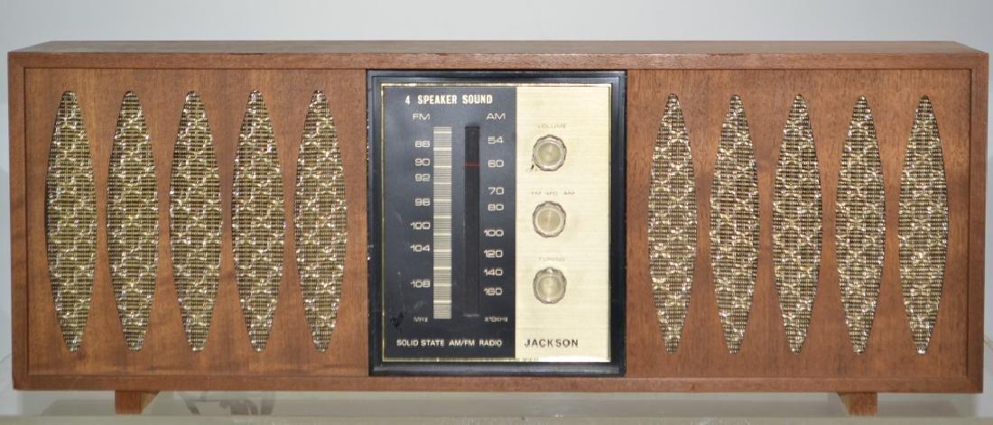 Jackson Mid Century Modern Radio