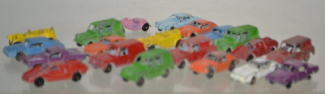 Grouping of Tootsie Toy Vehicles