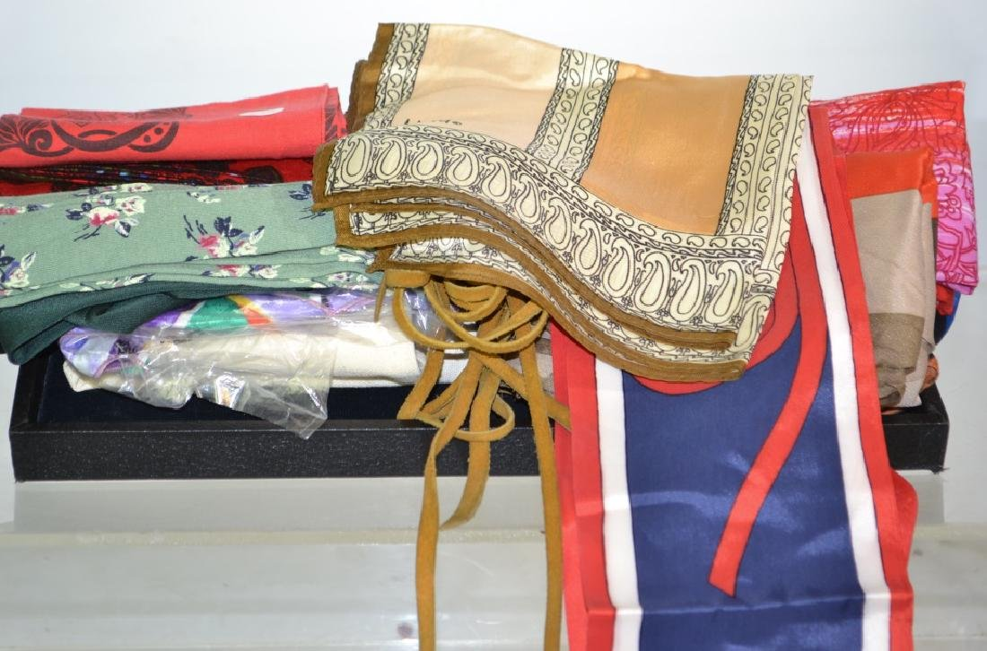 Grouping of Scarves