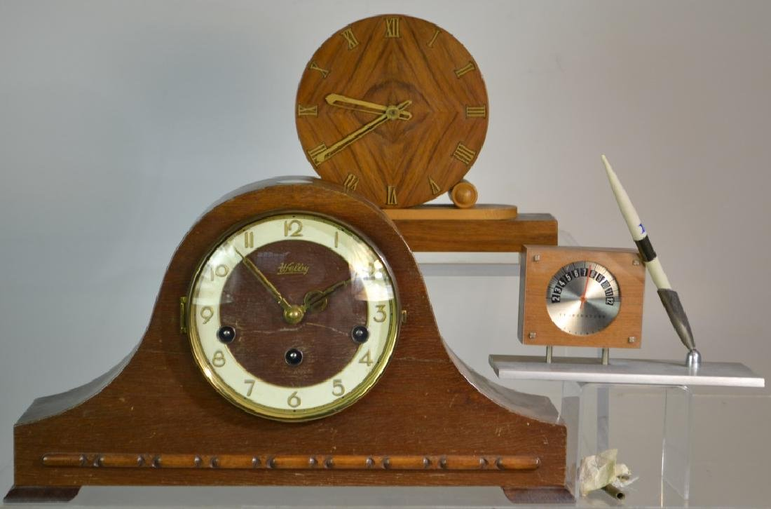 Vintage Clock Grouping