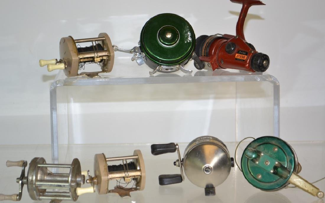 Vintage Fishing Reel Grouping