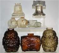 Collection of Glass and Metal Banks