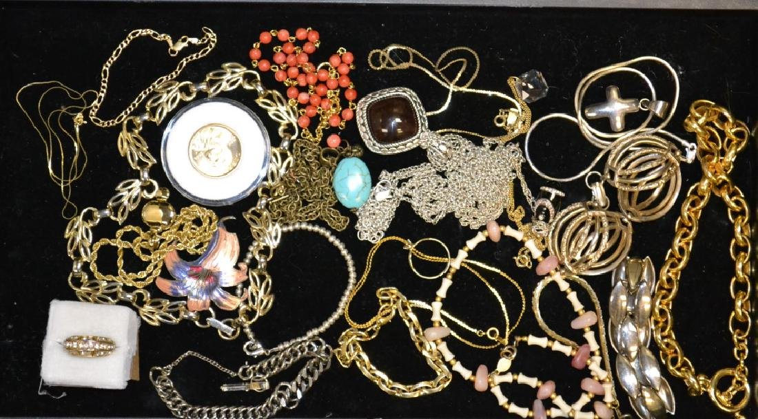 Costume Jewelry and 14K Gold Grouping