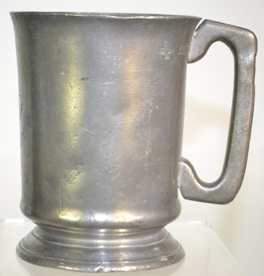 19th Century English Pewter Pub Pot.