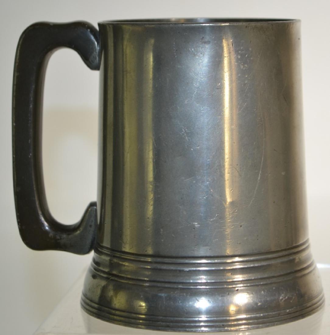 19th Century English Pub Pewter Pot