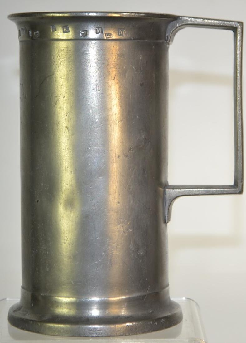 19th Century French Pewter Measure