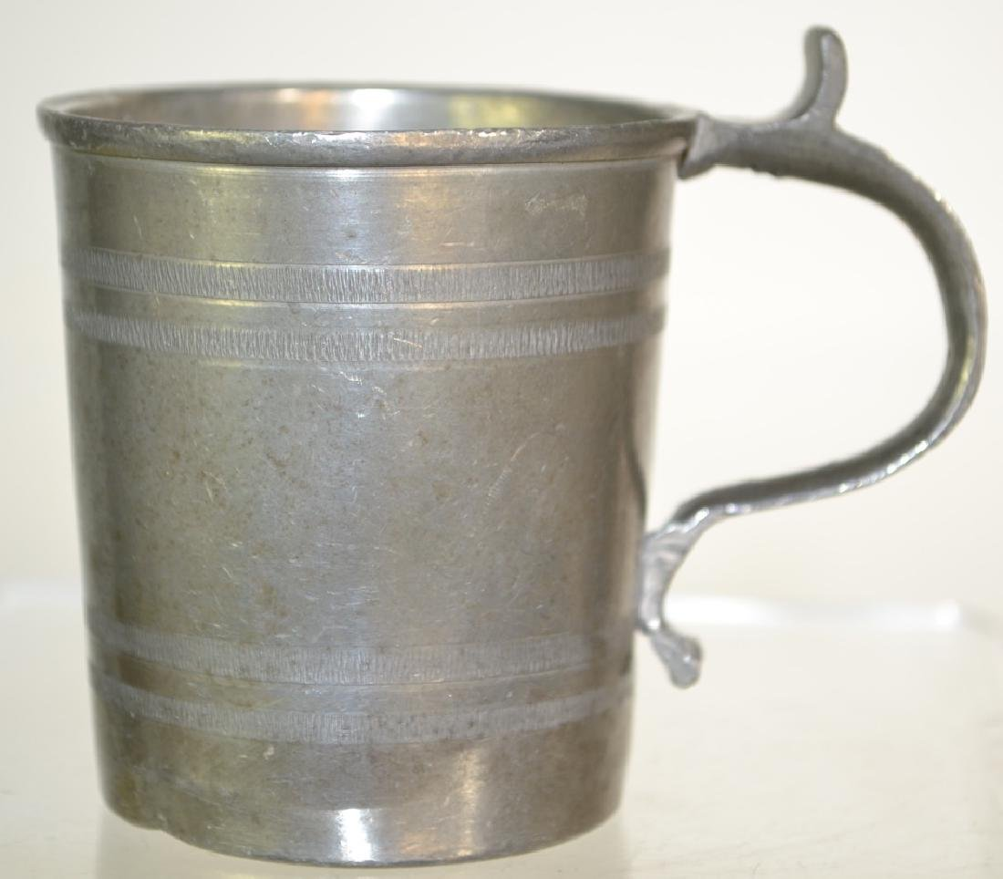 19th Century German Pewter Mug