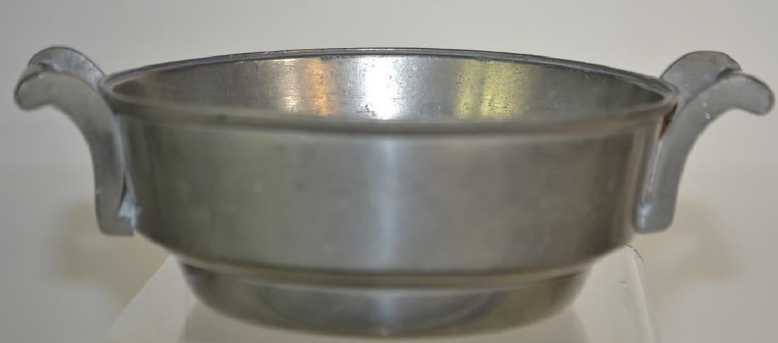 18th /19th Century German Pewter Bowl