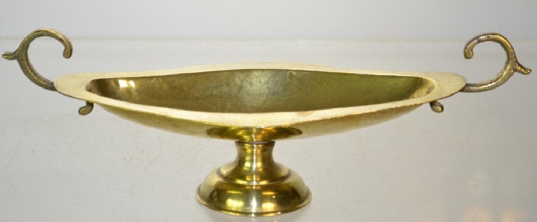 19th Century Russian Brass Serving Dish