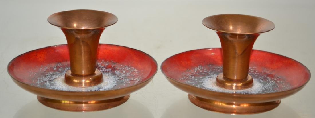Pair of Mid-Century Modern Candlesticks