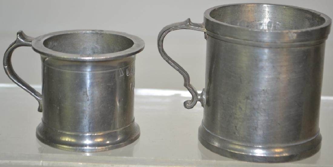 Two 19th Century German Pewter Measures