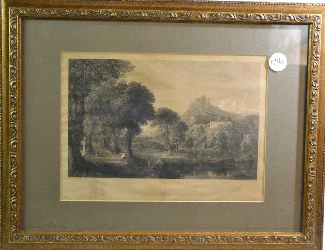 19th Century English Landscape Engraving