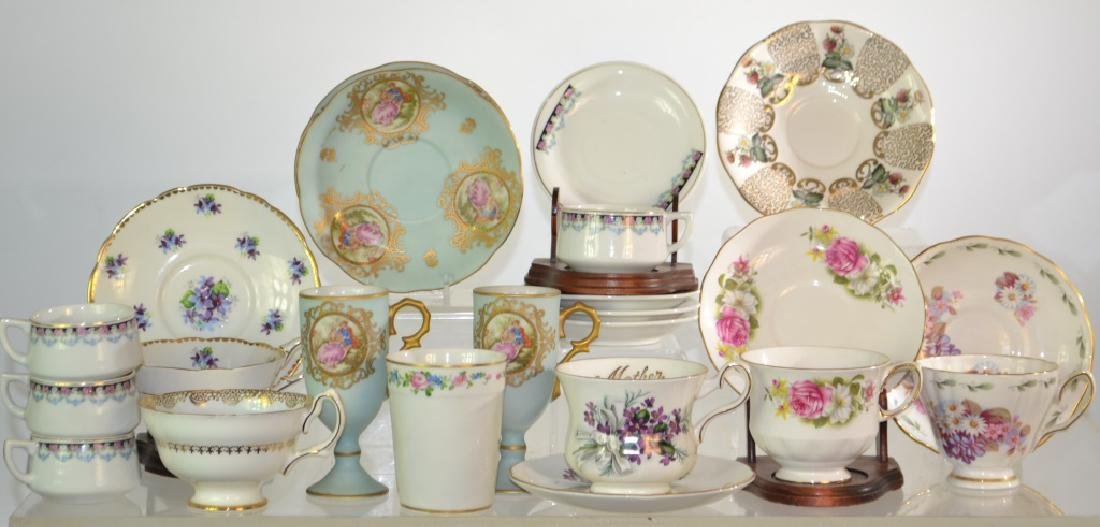 English Cups and Saucers and More