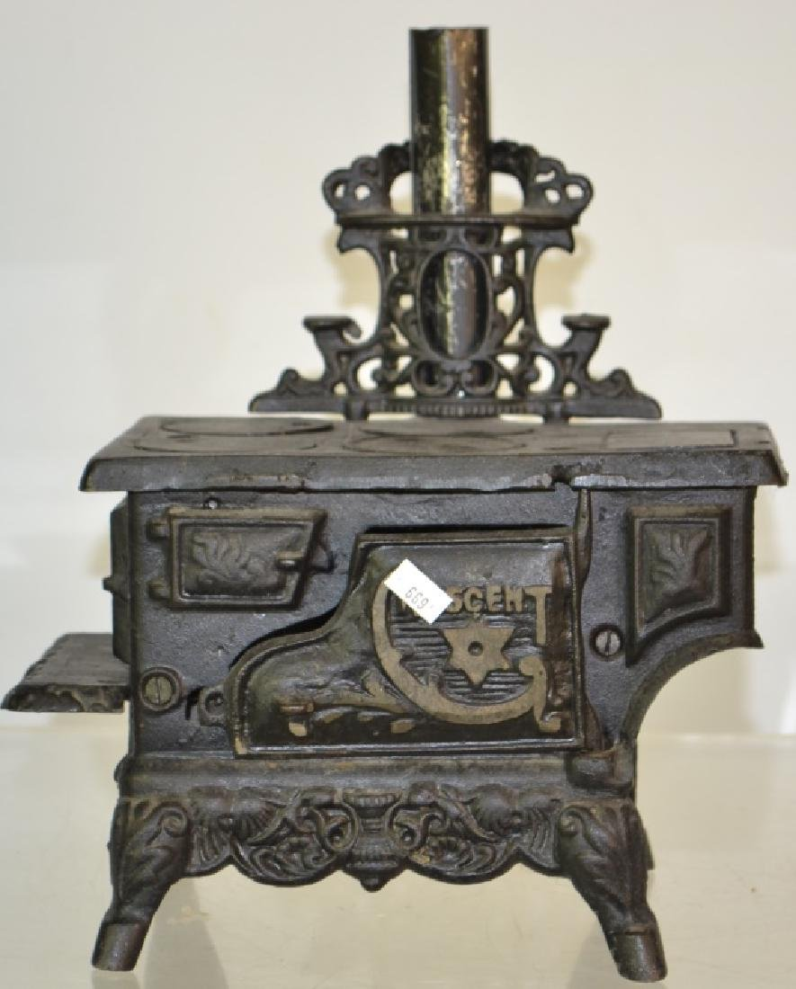 A Miniature Stove Grouping