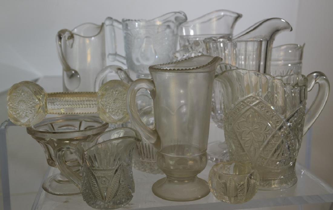 Victorian Cream Pitcher Grouping