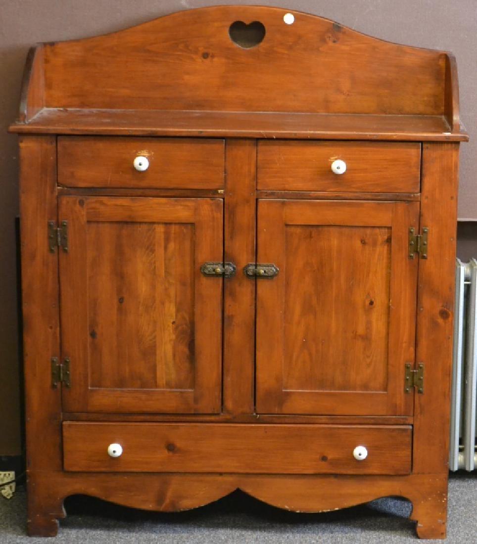 Pine Jelly Cupboard