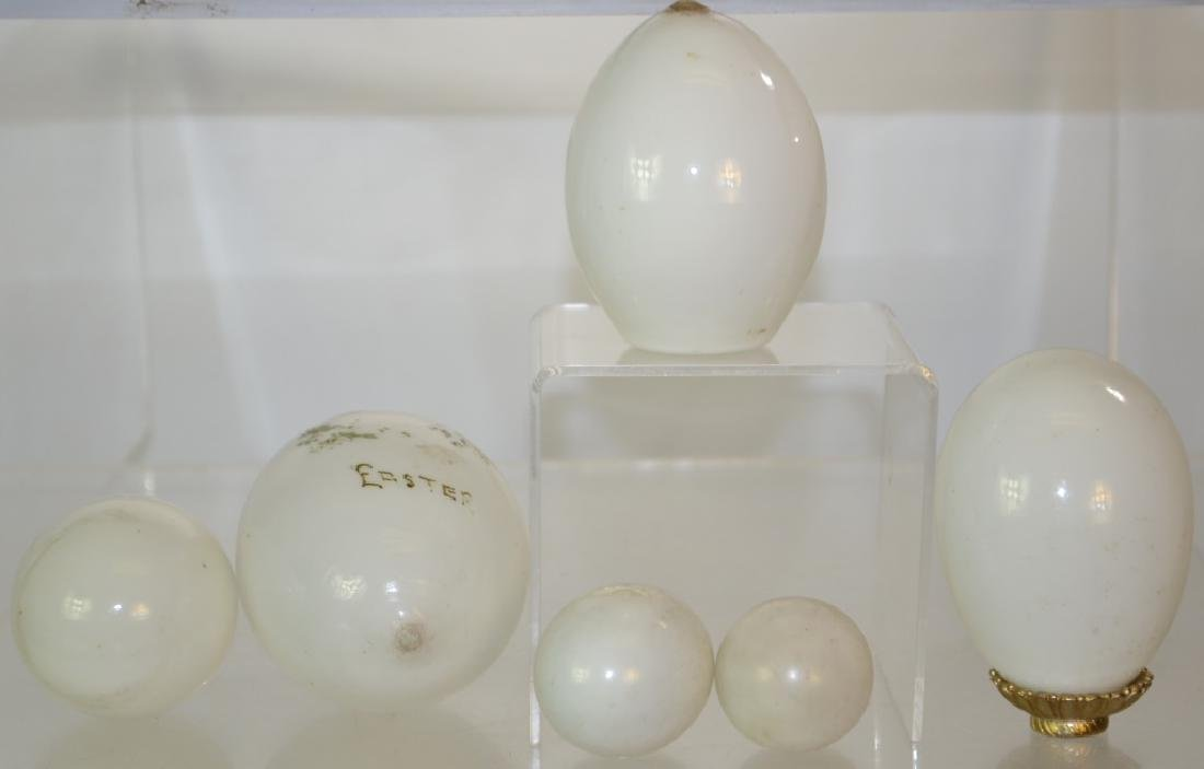 Victorian Glass Eggs