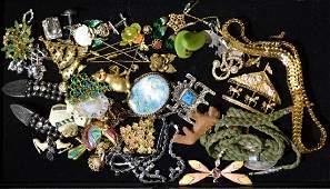 Mixed Costume Jewelry Grouping