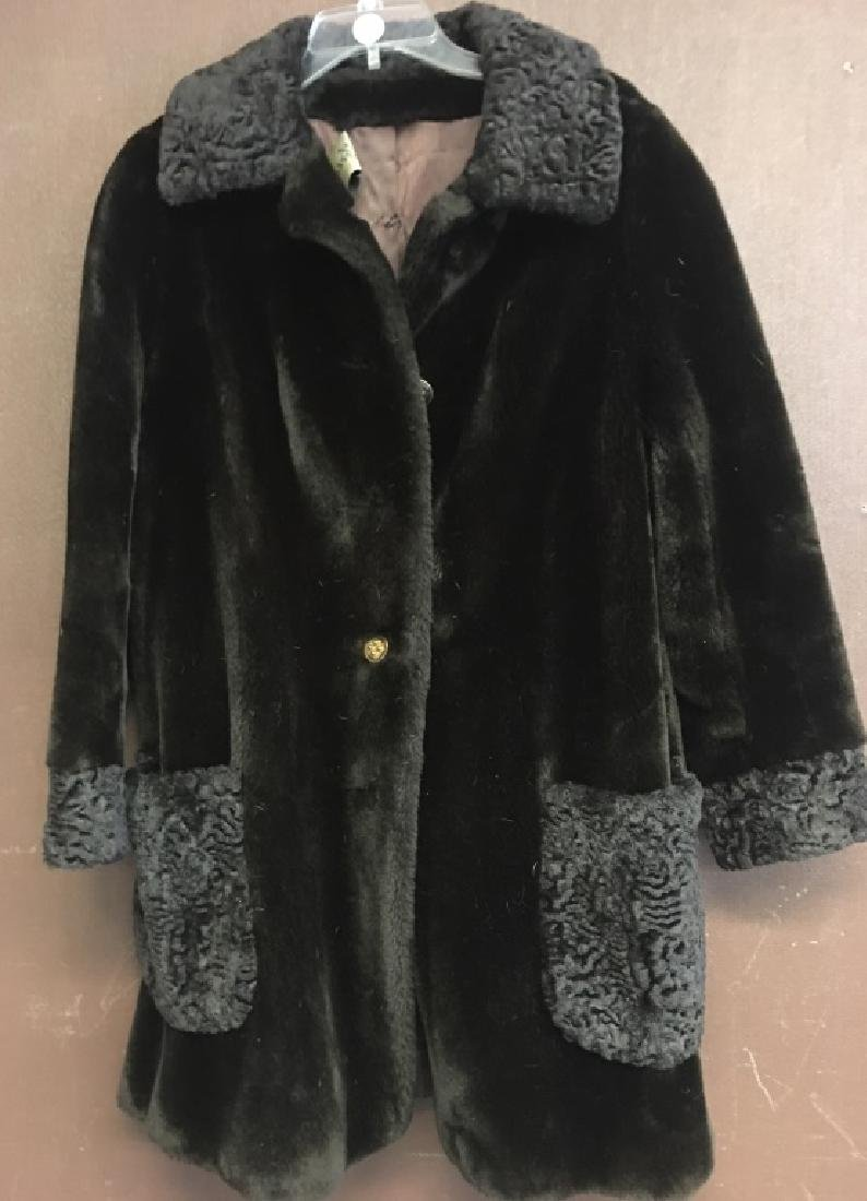 Ladies Faux Fur Coat