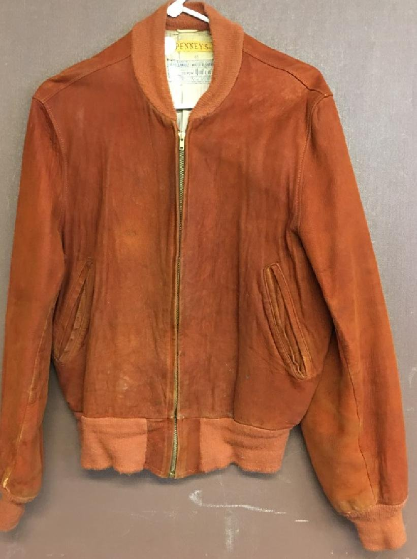 "Vintage Suede Men""s Jacket"