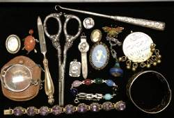Victorian and Sterling Grouping