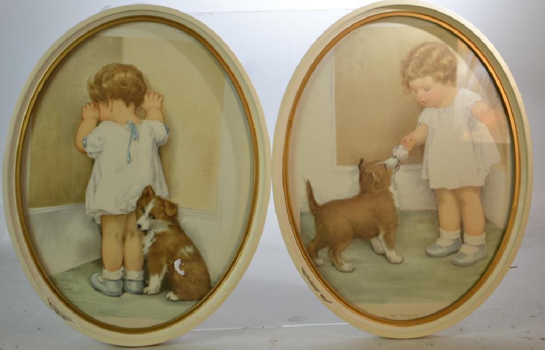 A Pair of Bessie Gutmann Prints