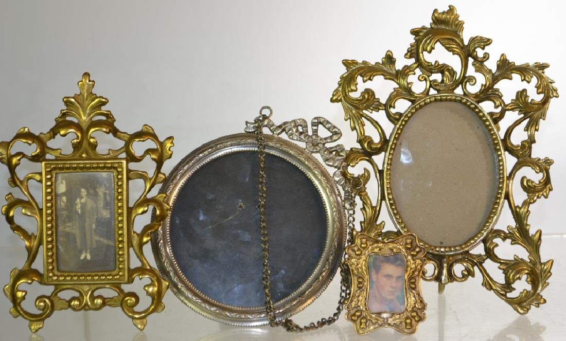 Brass and Silver Plate Mirrors