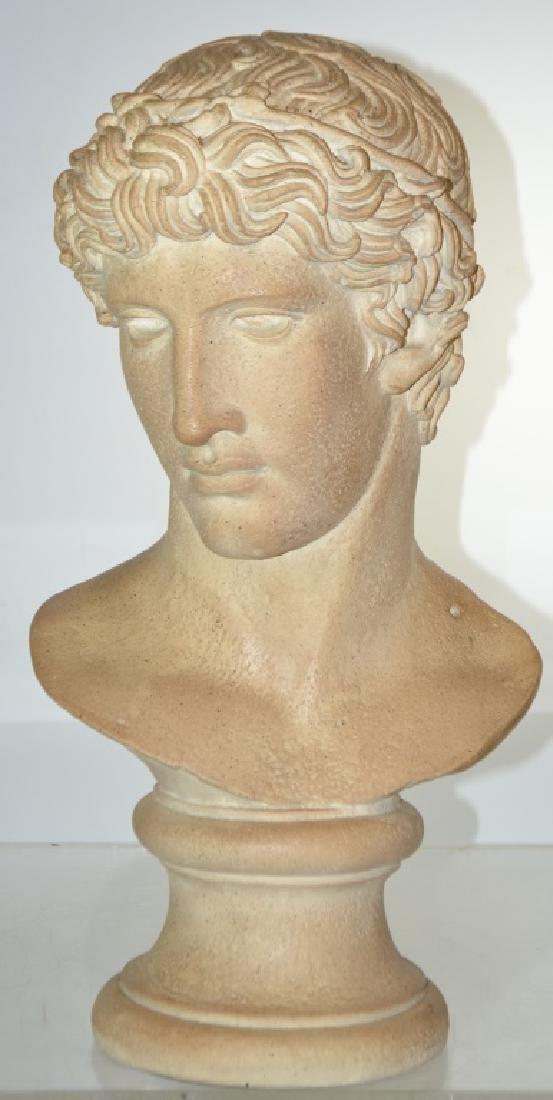Bust of an Athlete