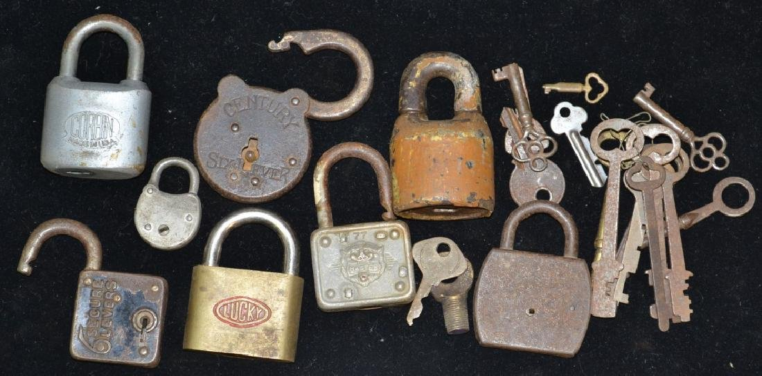 Grouping of Locks and Keys