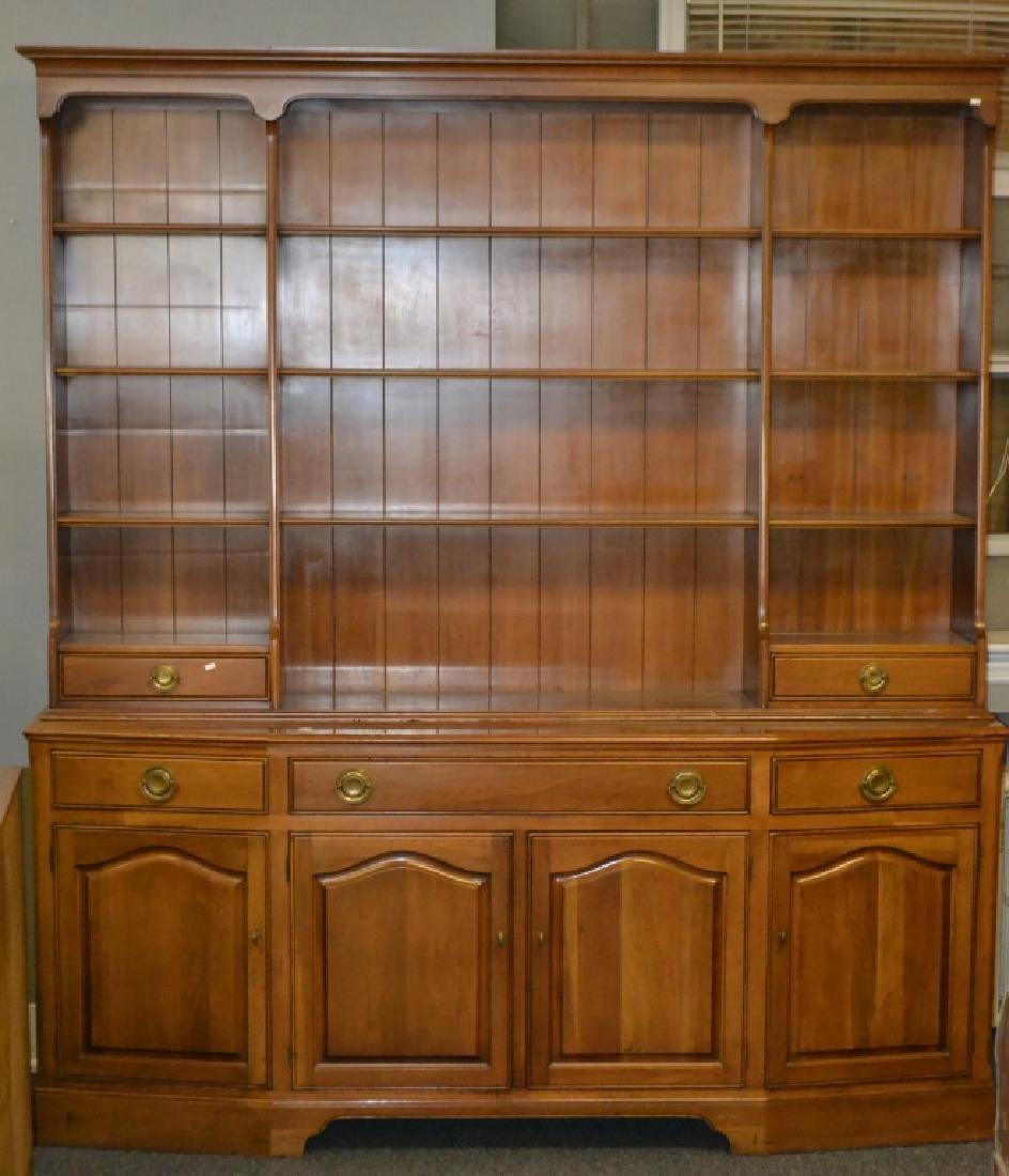 Statton Two Piece Bookcase