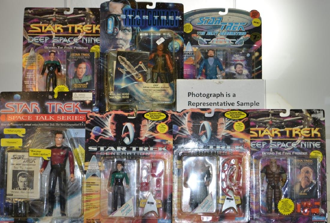Star Trek and Star Wars Collectibles