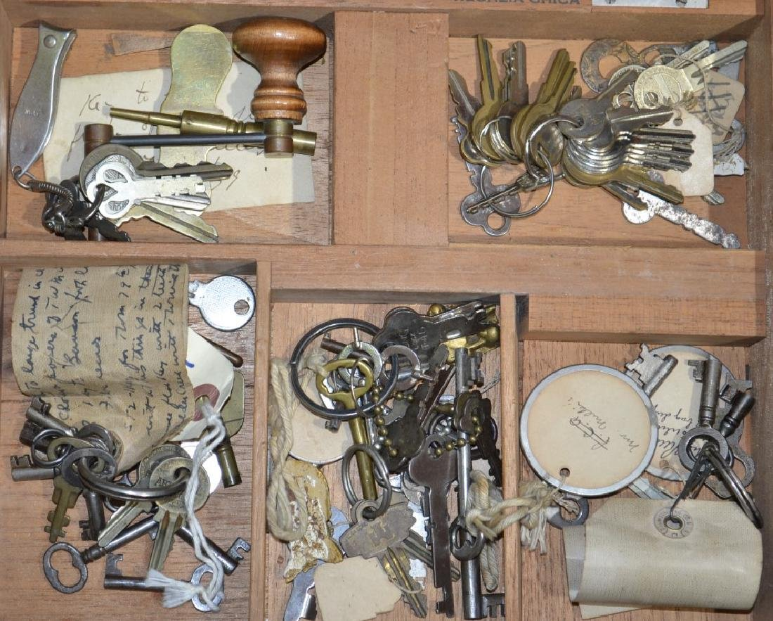 Grouping of Antique Keys