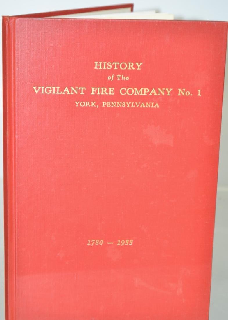 Vigilant Fire Company Book - York, Pa 1955