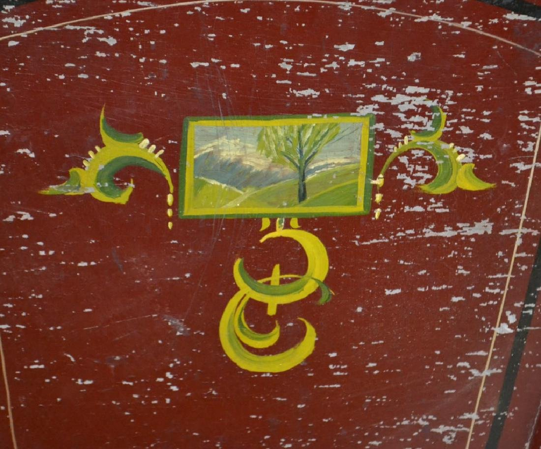 Outstanding Decorated 19th Century Child's Sleigh - 2