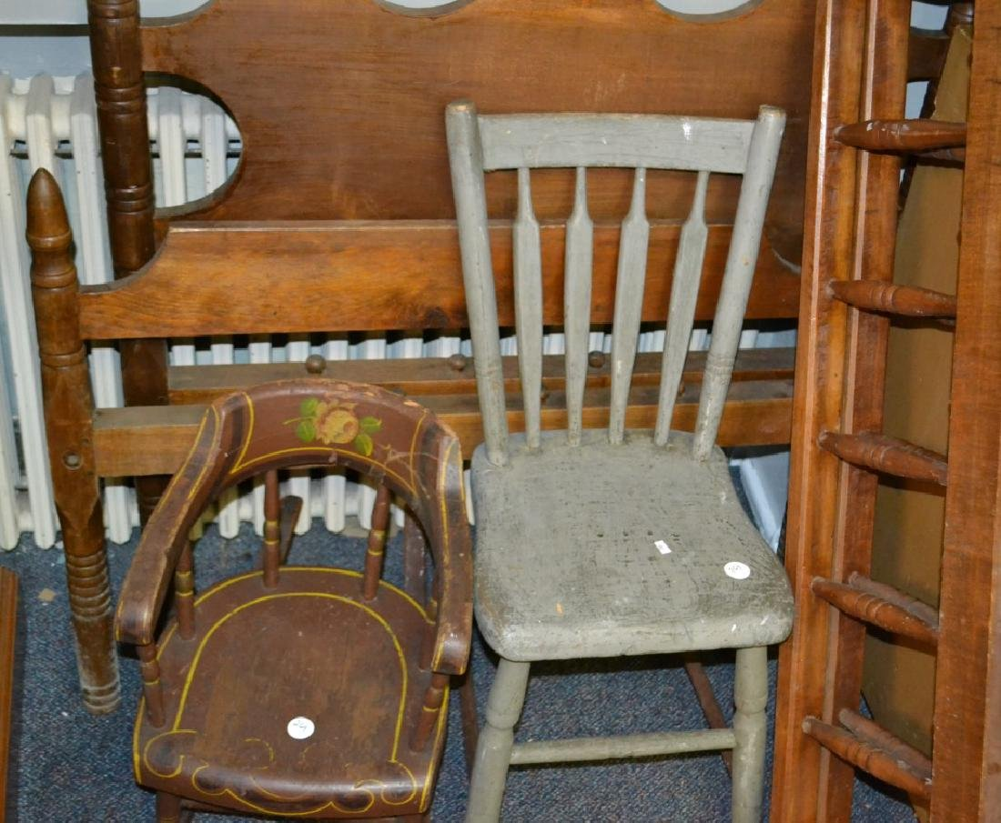 19th Century Child's Furniture Grouping