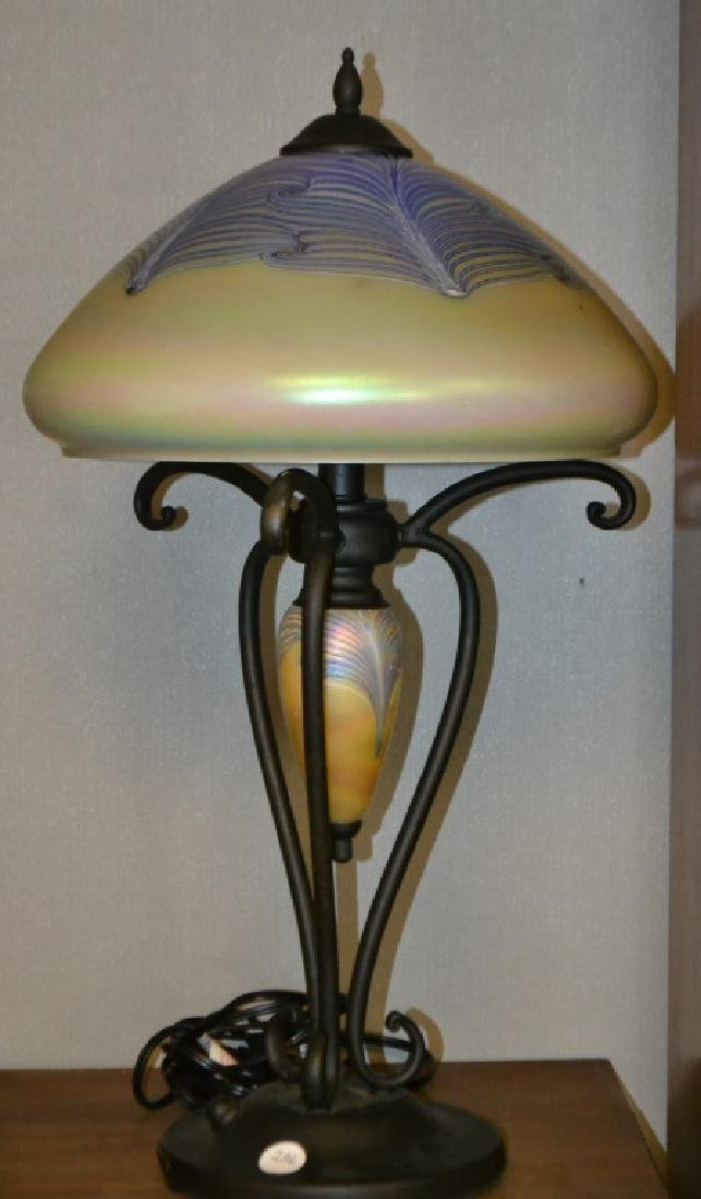 Quoizel Tiffany Style Table Lamp