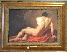 Oil on Canvas Titled Patroclus