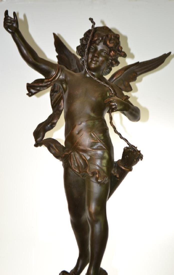 Statue of Cupidon by Auguste Moreau