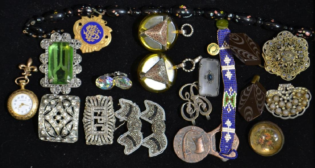 Including Quality Costume Jewelry and Pocket Watch