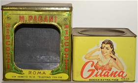 Vintage Tin Advertising Items