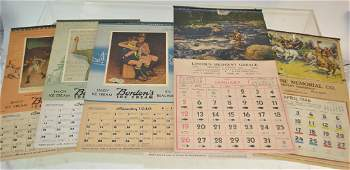 Vintage Boy Scout and Other Calendars
