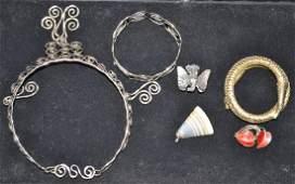 Whiting  Davis Snake Bracelet and More