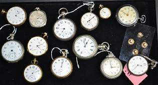 Large Pocket Watch Collection