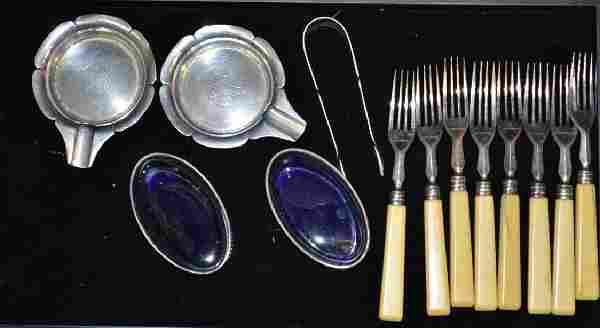 Sterling Silver Group of Formal Table Ware