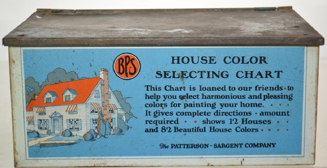 """BPS Paints"" Advertising Box"