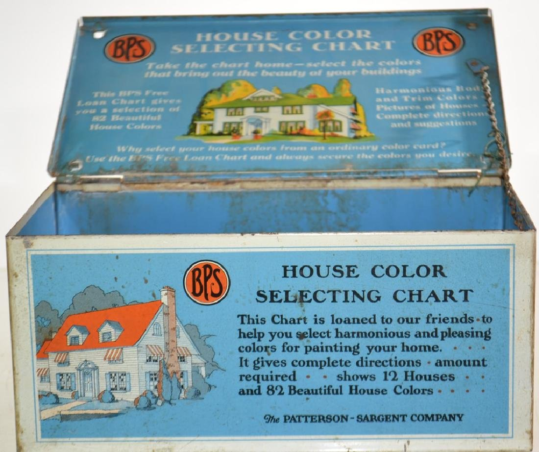 """BPS Paints"" Advertising Box - 3"