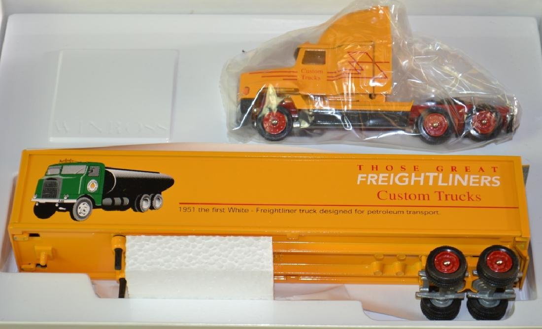 Six Winross Trucks - 2