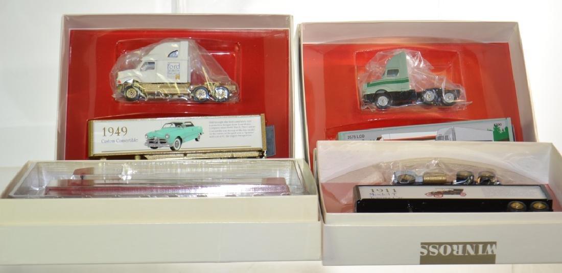 Four Winross Trucks