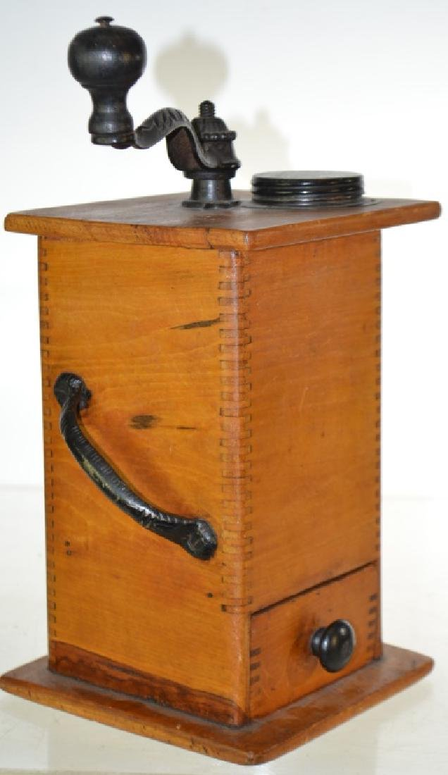 Finger Jointed Coffee Grinder - 2