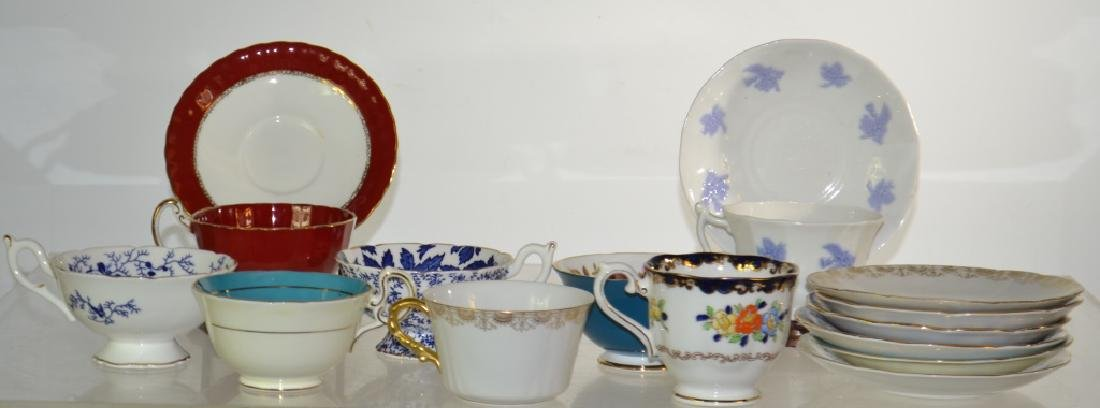 Decorative Cup and Saucer Collection